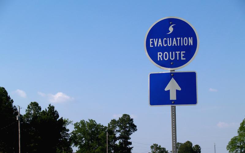Preparing for Evacuation